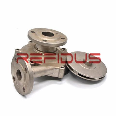 Silica sol investment casting pump impeller manufacturer in